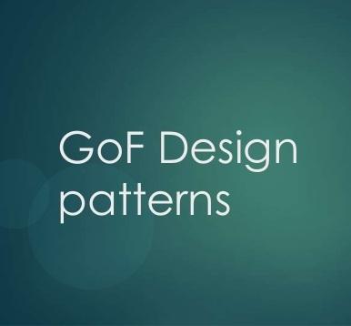 GoF Design Pattern & Java EE Design Pattern